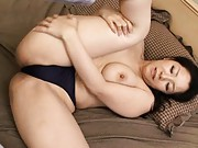 Ayane Asakura Lovely babe exposes nice tits and sexy panties