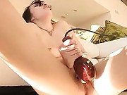 Aiden orgasms from the vibraking vibrator
