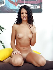 A young timid girl loves pleasuring herself