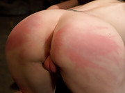Sybil Hawthorne earns her pleasures by enduring foot torment, agonizing zipper orgasms to be finished off with a hair suspension.