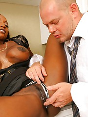Amazing big tits boss diamond gets pounded on the office desk then takes a cum bath in these hot after hour sex pics