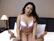 Ayane Asakura is horny and ready to suck dick eagerly