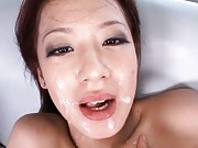 Misaki Shiraishi Naked babe gets fucked in lots of positions