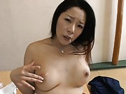Ayane Asakura turned on fingers pussy till she has orgasm
