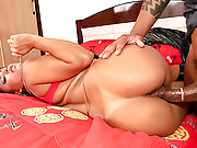 Big phat brazilan booty babes get their banging box rammed by a huge dong in these hot after hours party fuck vids