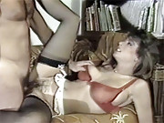 Hot retro secretary fucked by a horny boss