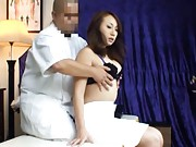 Japanese AV Model goes to doctor to have tits fondled