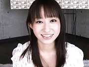Mika Osawa Asian holds money in mouth with dudes masturbating
