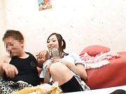 Maya Kanade Schoolgirl is enjoying her company and shows lingerie