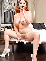Check out this hot fucking babe violet get her big phat bush pussy rammed in these hot red head fucking pics and big ass movie