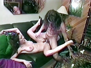 Retro chick nailed by a horny dude hardcore