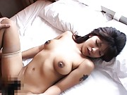 YukoHot Asian doll plays with boyfriend´s cock for a rear fucking