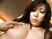 Mirei Yokoyama is undressed and has boobies played with