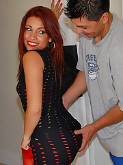 Check this hot ass mini skirt latina pounded hard real amateur screaming pics