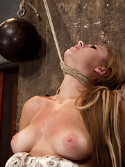 Cute 19yr blond from next door, has a bratty side, wants to play her game.  Soon realizes there is only one game, & you don