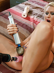 Katie Summers, machine nailed into a creamy, cum drunk mess by the fastest machines in the FM arsenal.