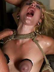 """Into The Darkness"": A Hogtied Featured fantasy abduction movie. In 2005 her sorority made Rylie spend a night in the abandon armory. A night of Hell."
