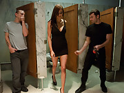 Princess Donna dominated in extreme BDSM sex with double penetration.