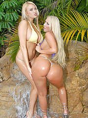 Hot lesbians fucked in the grotto hot puss fucking wet lesbian sex