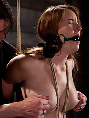 Sophia Lauryn has never been tied up and left at the whims of a stranger until now!
