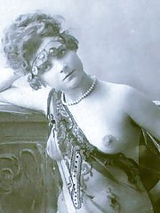 Sexy chicks wearing sexy outfits in thirties