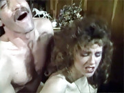 One horny dude fucks two retro babes hardcore
