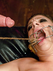 Big tit MILF fucked in hard bondage and humiliated!