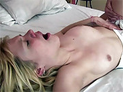 Horny chap banging a delicate young sweetie