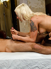 POV FemDom. Mistress Lorelei Lee demands YOU worship her feet and ass and teaches you a lesson with masturbation instruction.