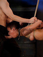 Every hole is filled and tested on this slave whore, with help from Isis Love, Matt Williams, and Maestro.