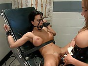 Nika Noire is used by a kinky nurse while in a coma. When she wakes she get back at the kinky nurse with tough lesbian punishment and sex!