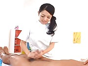 Sora Aoi Asian strokes dick as bonus for having a massage at her