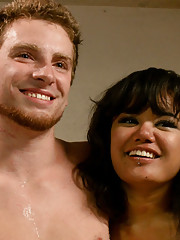 Annie Cruz has an intense gangbang in front of her boyfriend in order to humiliate and cuckold him.