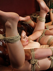Sarah Shevon needs help with her anxiety and Dr. Bobbi Starr has just the thing for her, a stiff dose of electricity, bondage, and lesbian sex.