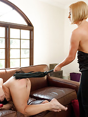 Role play with Anal punishment, ass fisting, squirting, spanking and rough sex!