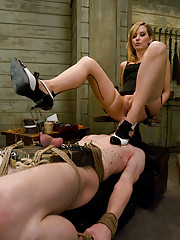 Slave boy trained to serve Gorgeous Dominant Pussy