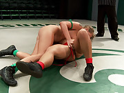 Hot blond athletic rookie, meets Sexy Hawaiian veteran for a brutal non-scripted wresting bout. Loser gets fucked, abused & humiliated by the winner.