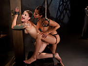 Isis Loves sexy fuck doll gets tied up and fucked hard with electricity