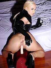 Huge Ass in Latex