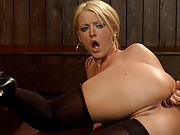 Sophie Dee all anal toys anal sex fisting and enema!