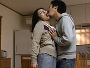 Ayane Asakura Asian invites dude in to have tits caressed