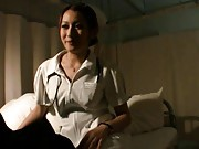 Reon Otowa horny doctor plays with her big and firm knockers