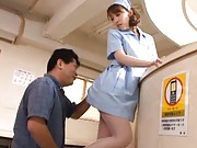 Miho Ashina nurse begins to fool around with a patient