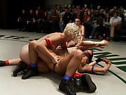 This is RD 2 from last months live tag team match.  Red had the lead going into the RD, with 1 minute to go Blue takes the lead. Can they hold it?