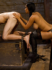 Long time fan gets to worship Goddess Isis Love