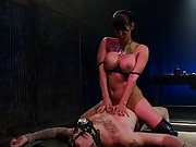 Christian Wilde gets a taste of his own medicine with CBT, humiliation, tease and denial and cum eating.