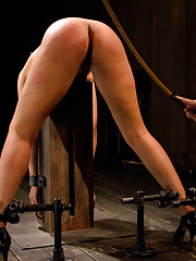 Pornstar gets wrecked in her first bondage shoot. Put in hard bondage and ass fucked. Hot wax in an extreme position. Taken for a ride on the sybian.