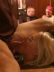 The House Steward, Stefanos, hosts a community brunch of local BDSM Players.