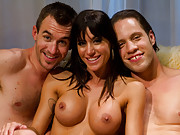 Gia Dimarco cuckolds her husband with a hot stud he finds her on the internet!