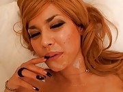 Maria Ozawa Asian is fucked with round tits shaking and in boots